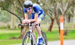 Angus finished 3rd in the TT at Mersey Valley