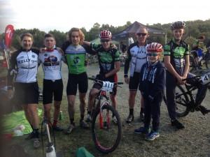 Post race mud group photo