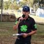 Bob giving TT commentary