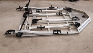 6 bike Thule Roof Rack system
